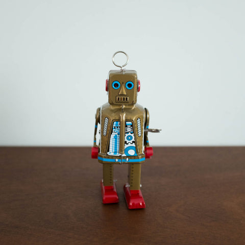 Space Robot Tin Toy