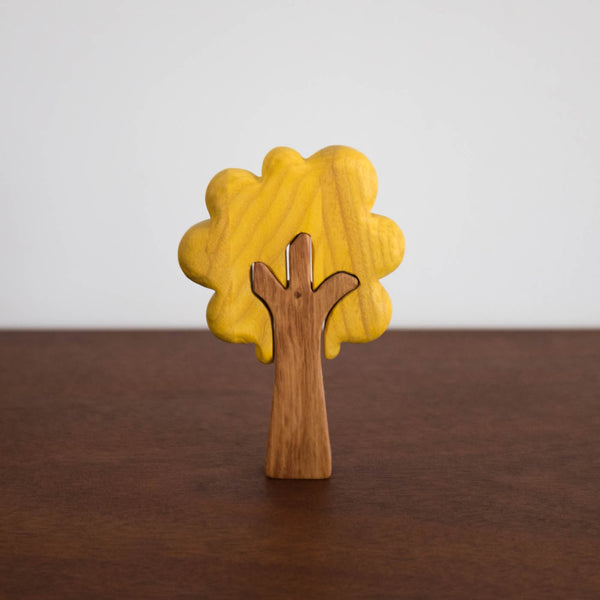 Yellow Tree Stacking Toy