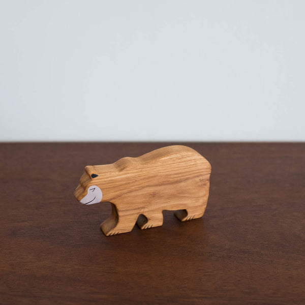 Wooden Bear Toy