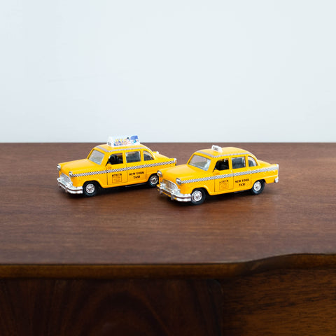 Die Cast Metal Cars: New York Taxi Cab