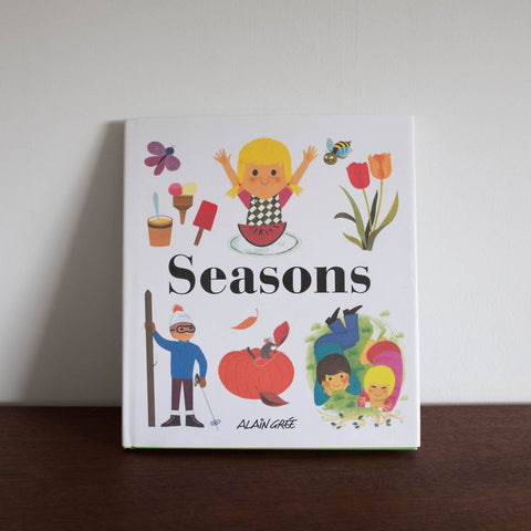 Alain Gree Seasons Book