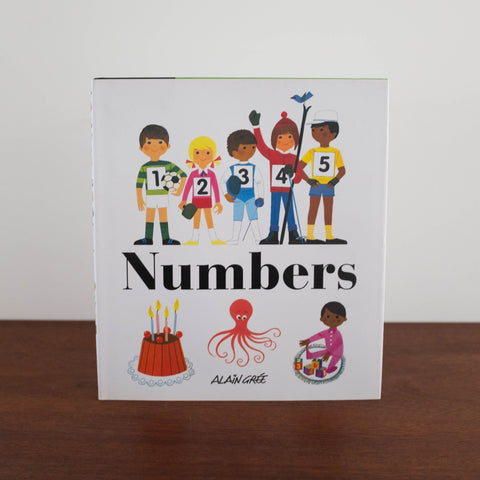 Alain Gree Numbers Book