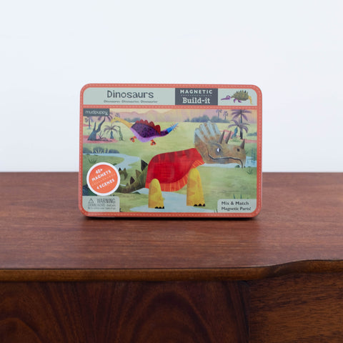 Magnet Tin Set: Dinosaurs