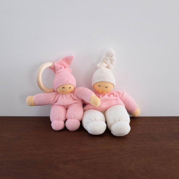 Nanchen Cuddle Doll Stroller Toy- Pink