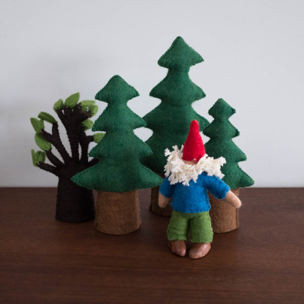 Wool Felt: Pine Tree Set of 3