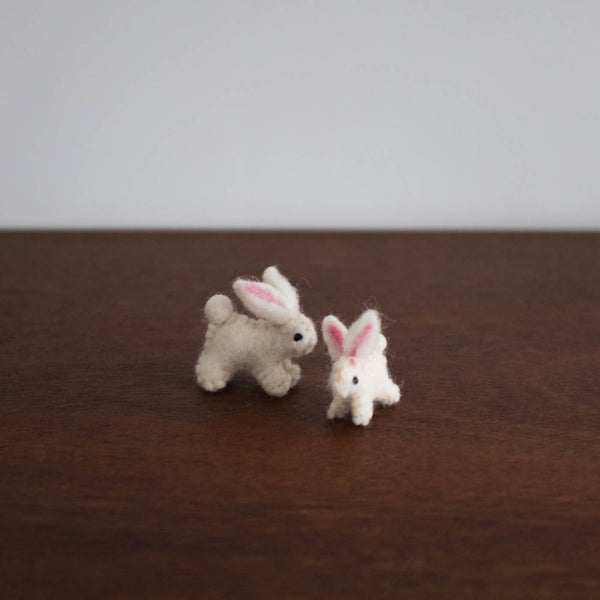 Wool Felt: Bunnies Set of 2