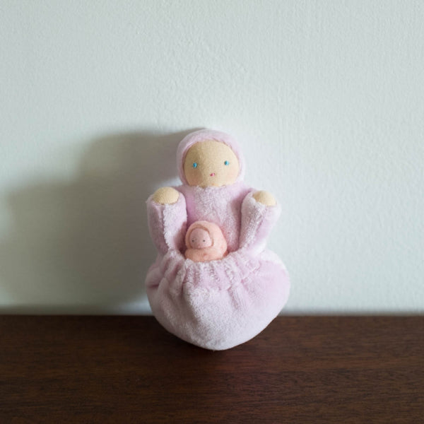 Pocket Mama and Baby Doll- Pink