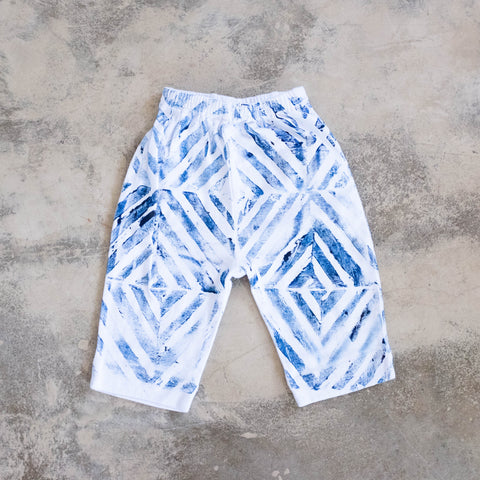 Block Print Chevron Pants