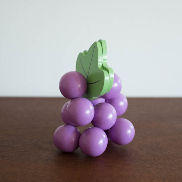 Farmer's Market Grape Baby Beads