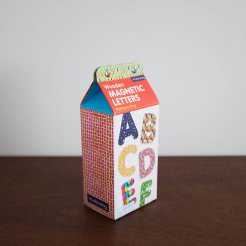 Magnetic Shapes Kit: Pattern Pop Wooden Alphabet