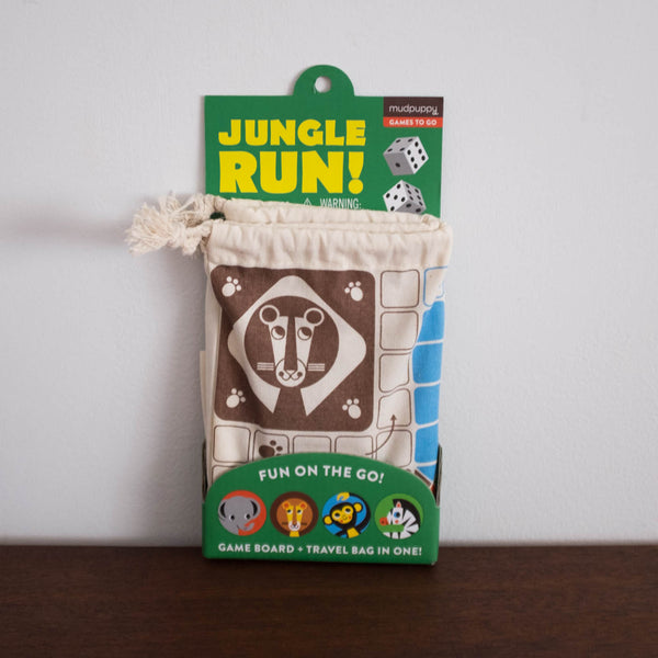 Jungle Run! Travel Game Set