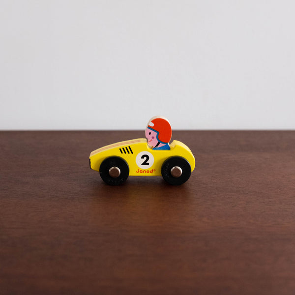 Story Racer Car- Yellow