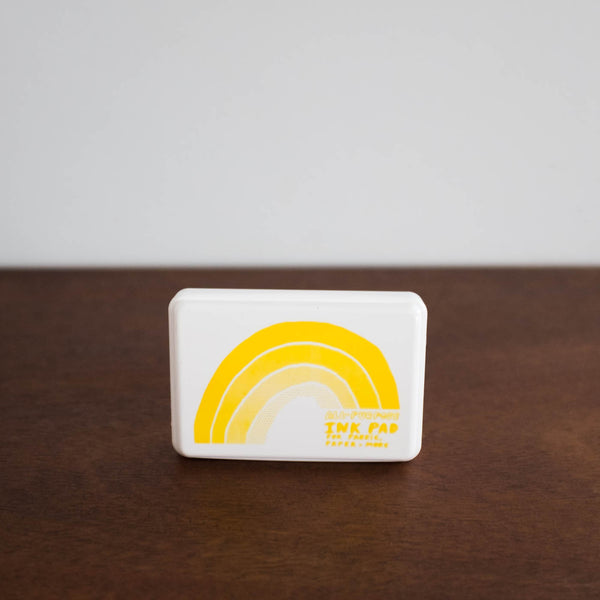 Stamp Ink Pad-Yellow