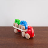 Wooden Truck Car Carrier