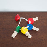 Wooden Key Chain Grasping Toy
