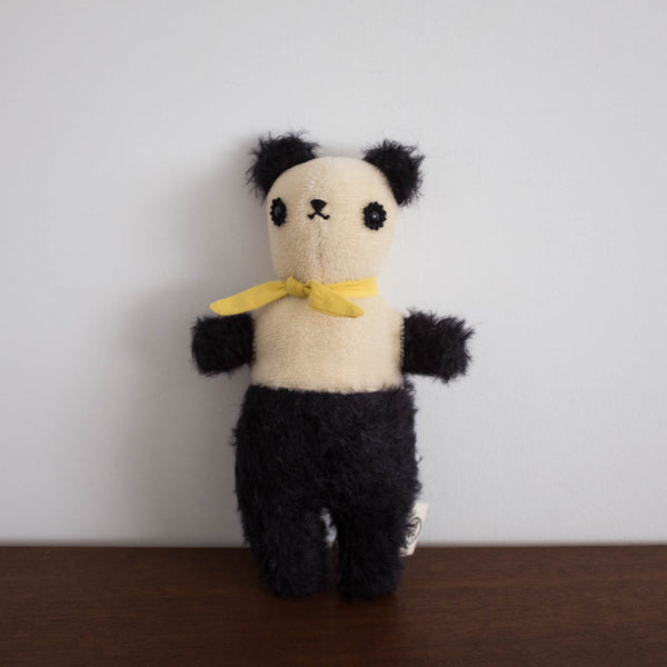 Polka Dot Club Black Small Bear