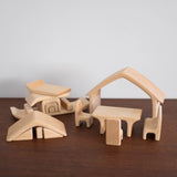 All in House Natural Stacking Toy