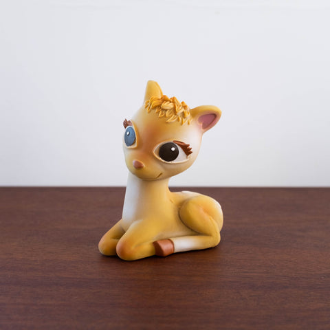 Olive the Rubber Bambi Deer Toy