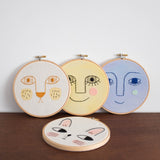 Oso Wall Embroidery Hoop