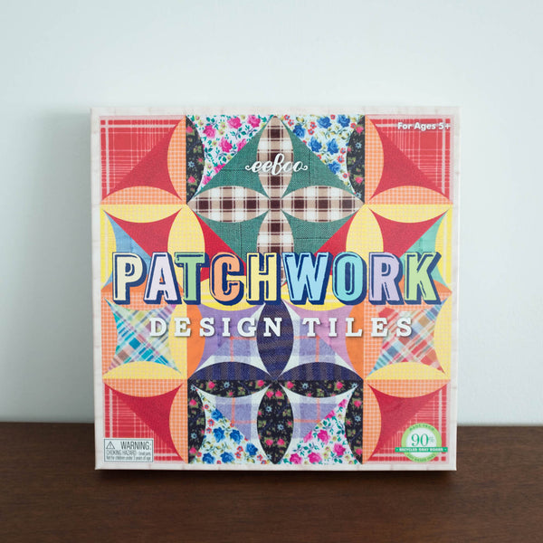 Patchwork Design Tiles Activity Set