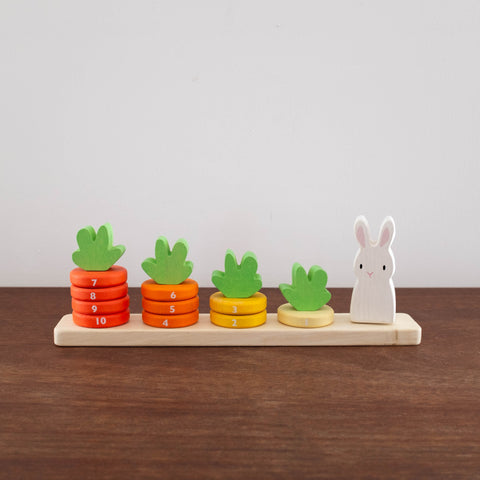 Counting Carrots Stacking Toy