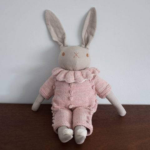 Misha and Puff + PDC Large Pink Rabbit Doll