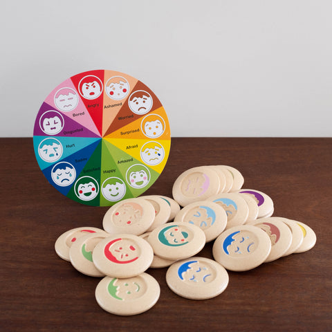 Mood Memory Wooden Game Set