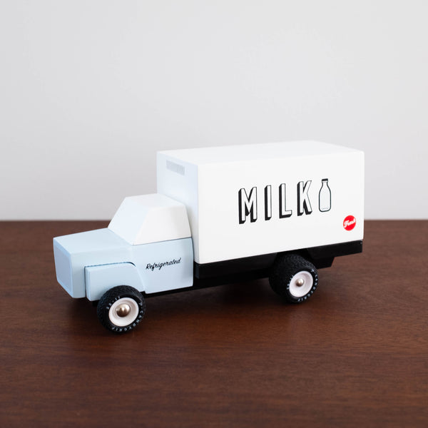 Milk Truck the Wooden Car Toy