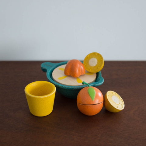 Wooden Juicer Set
