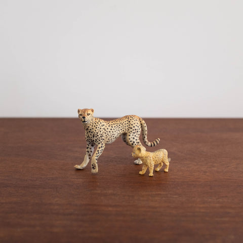 Papo Cheetah with Cub Set