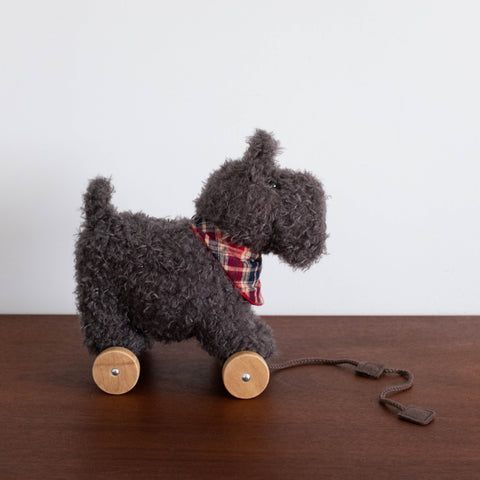 Scottie Puppy Pull Along Dog Toy