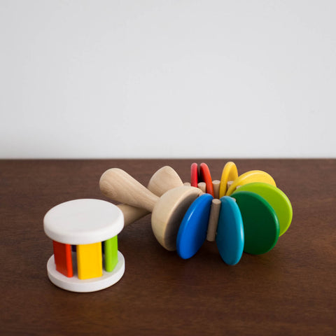 Wooden Colorful Clatter Toy