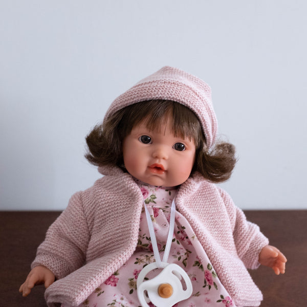 Victoria Crying Baby Doll- 13""