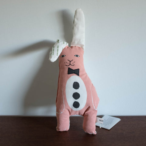 Bow Tie Mini Bunny Doll and Pillow