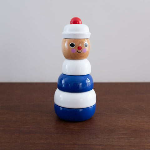 French Sailor Stacking Toy