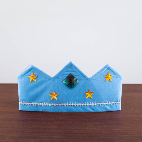 Silk Crown- Light Blue Reversible