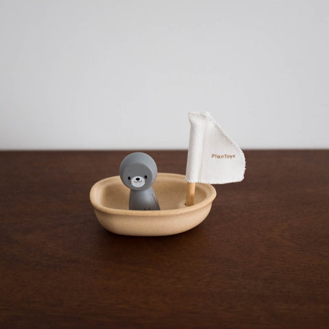 Sailing Boat with Otter Toy