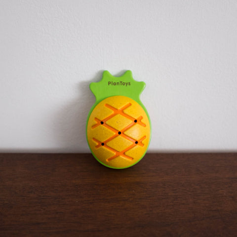 Wooden Pineapple Maraca Toy