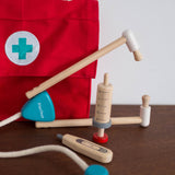 Wooden Doctor Bag Set