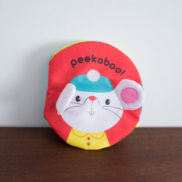 Peekaboo Soft Baby Book