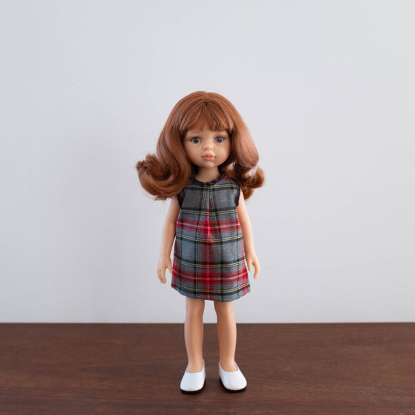 Christine Doll with Plaid Dress