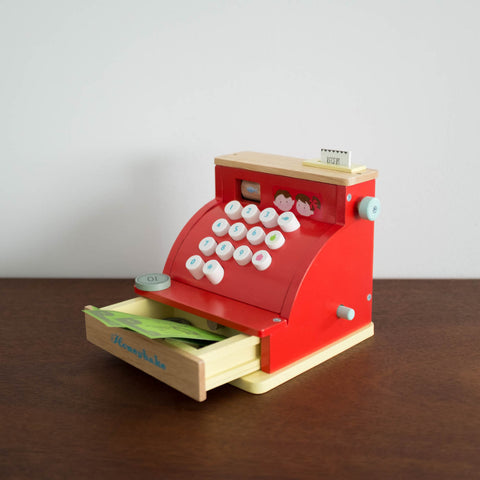 Wooden Cash Register Toy