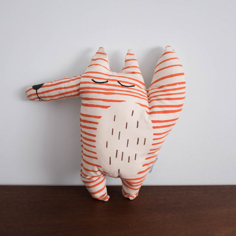 Fox Doll and Pillow