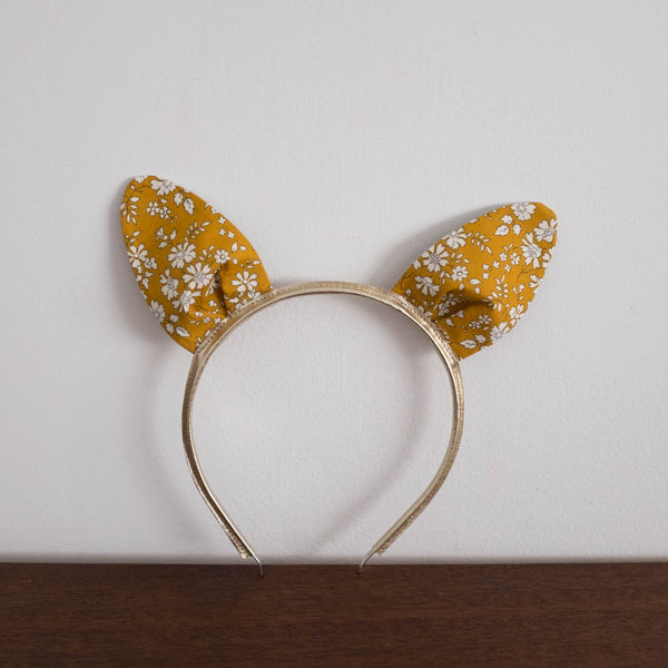 Bunny Ear Liberty Print Headband