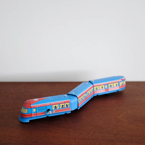 Tin Express Train Toy