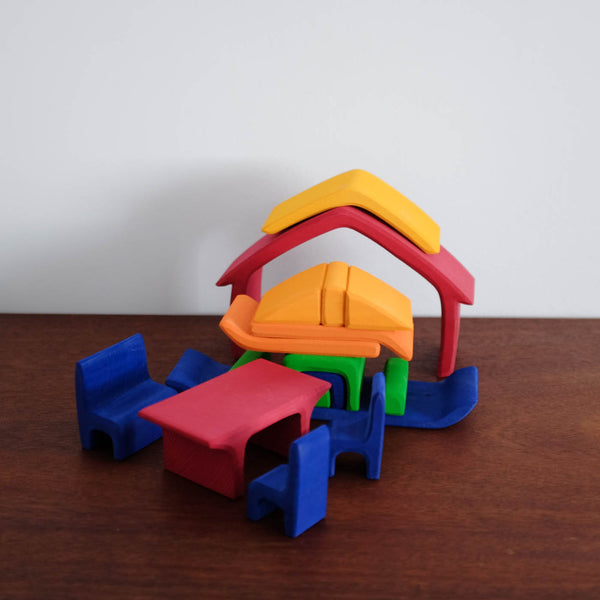 All in House Color Stacking Toy