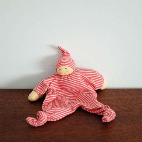 Nanchen Knotted Soothing Doll- Red