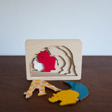 Wooden Puzzle: Animals