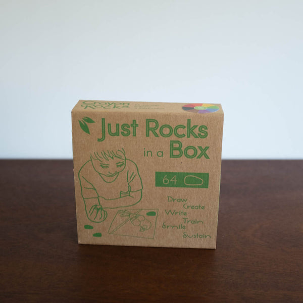 Just Rocks in a Box Crayon Set