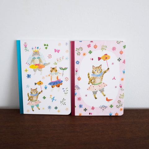Aiko Lovely Paper Small Notebook- Set of Two